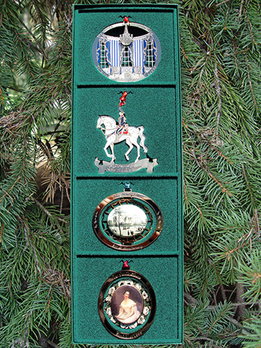 1990-1993 Set of Four Ornaments
