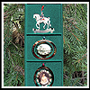 1990 - 1993 Set of Four White House Ornaments