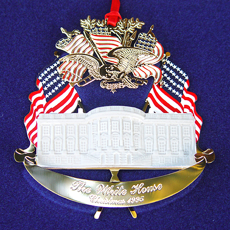 Purchase your 1995 Zachary Taylor Christmas Ornament online at whitehousechristmasornament.com - Have a Merry Christmas and Happy Holidays