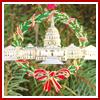 1995 U.S. Capitol Wreath Ornament