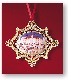 1995 Mount Vernon West Front Joyful Group Ornament