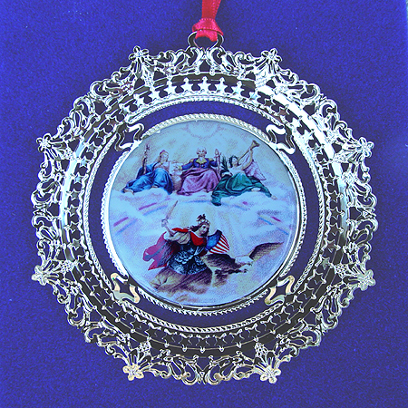 1996 Apotheosis of George Washington Ornament