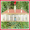 1999 Mount Vernon East Front Dollhouse Ornament