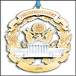 2000 Supreme Court Ornament