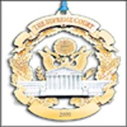 2000 Supreme Court Ornament