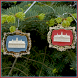 2001 Collectible Mount Vernon Set of Ornaments