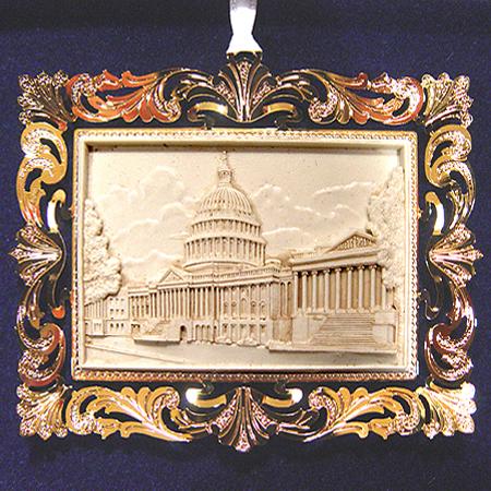 2001 U.S. Capitol Marble Ornament