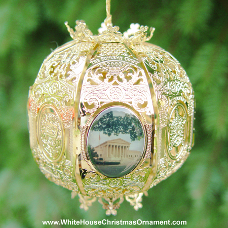 2003 Supreme Court Sphere Bulk Ornament
