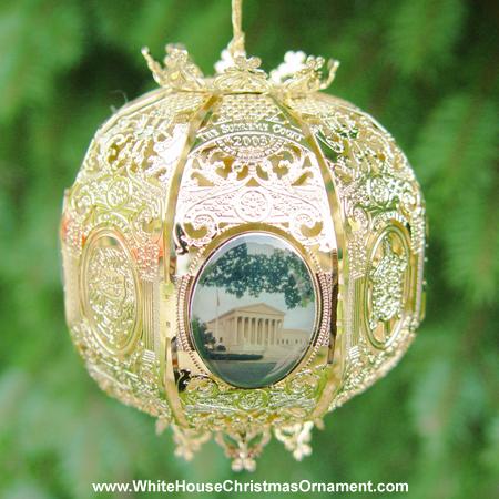 2003 Supreme Court Sphere Ornament