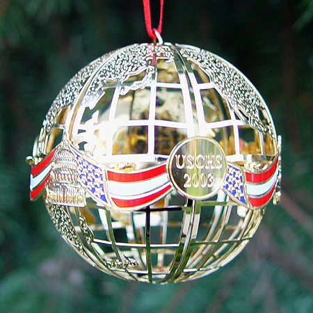 2003 U.S. Capitol Sphere Ornament