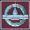2003 Marble & Wreath Capitol Ornament