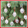 2004 American President Collection Complete Set of 10 (Bulk) Ornaments