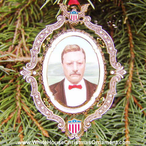 American President Collection Theodore Roosevelt Ornament