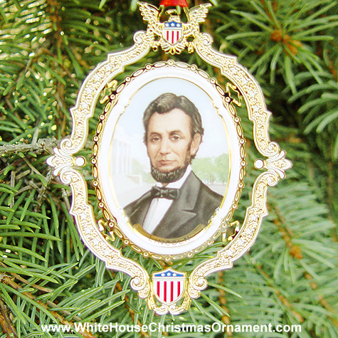 Christmas Ornaments on Abraham Lincoln Ornament   Mail Order White House Christmas Ornaments