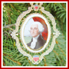 American President Collection George Washington Ornament