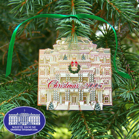 2005 Secret Service Eisenhower Executive Office Ornament