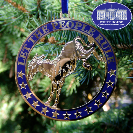 2005 Let The People Rule Ornament