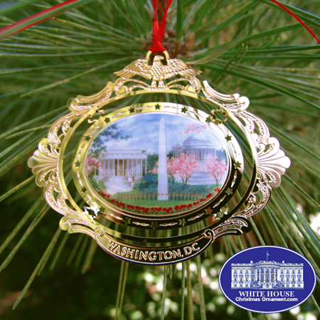The Washington, DC Cameo Ornament
