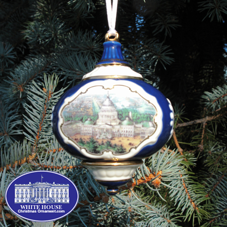 2006 US Capitol Fine Porcelain Ornament