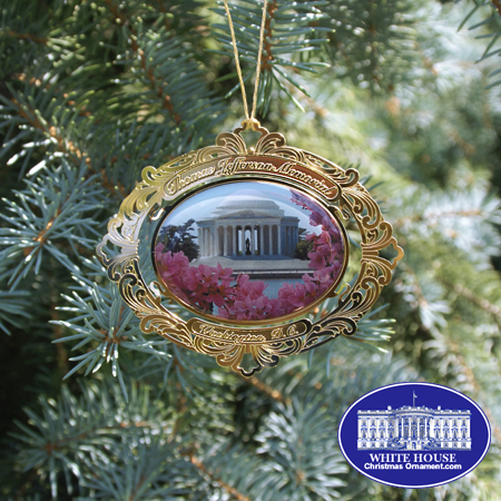 2007 Thomas Jefferson Memorial Ornament