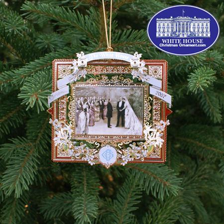 White House Christmas Ornament