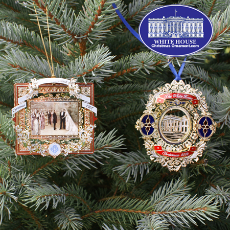 2007 White House Ornament Gift Set