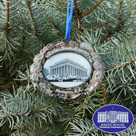 2008 Abraham Lincoln Memorial Bulk Ornament�