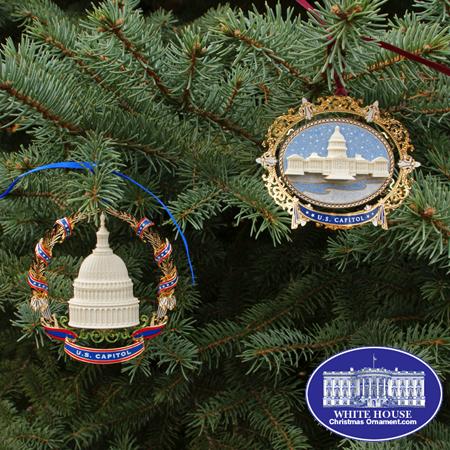 2008 US Capitol Ornament Gift Set