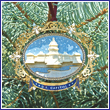 2008 US Capitol Oval Marble Ornament (Bulk)
