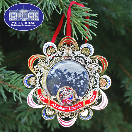 2008 US Capitol Abraham Lincoln's Second Inaugural Address Bulk Ornament