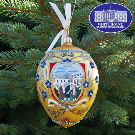 2008 George Washington Administration Christmas Bulk Ornament