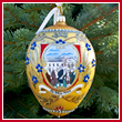 2008 George Washington Administration Christmas Bulk Ornament