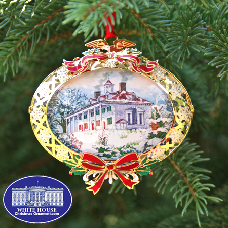 2008 Mount Vernon 150th Anniversary of the Saving of Mount Vernon Bulk Ornament