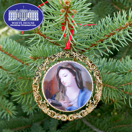 The 2008 Mount Vernon Virgin Mary Ornament
