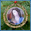 The 2008 Mount Vernon Virgin Mary Ornament