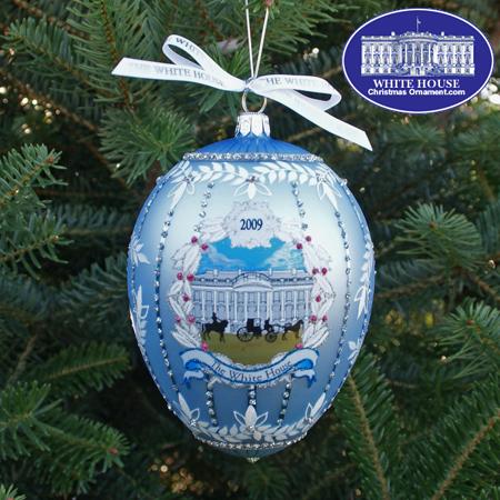 2009 John Adams Administration Christmas Ornament