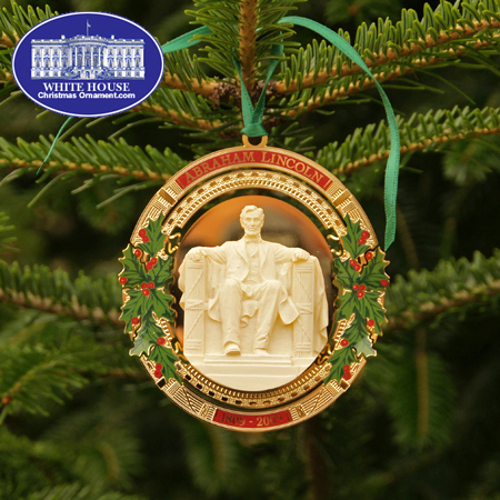 2009 Secret Service Abraham Lincoln Bicentennial Ornament