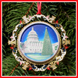 2009 US Capitol West Front Marble Ornament