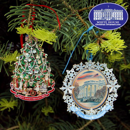 2009 White House Ornament Gift Set