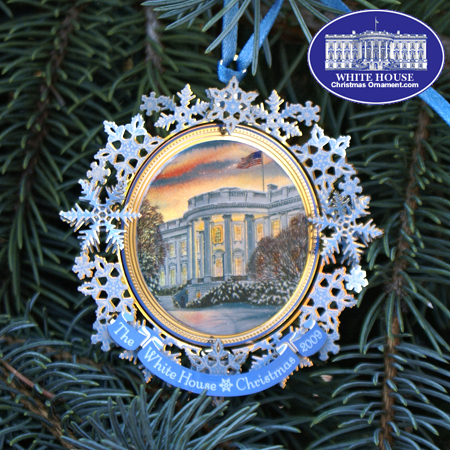 2009 White House Grover Cleveland Ornament
