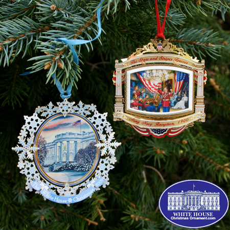Official 2010 White House Ornament Gift Set