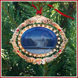 White House South Portico Ornament