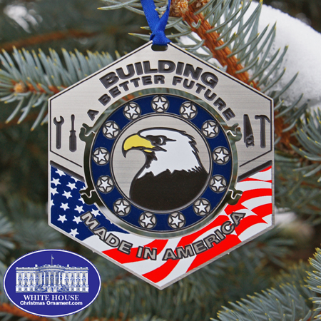 The Official Made in America Ornament