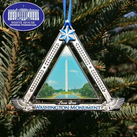 2010 George Washington Monument Ornament