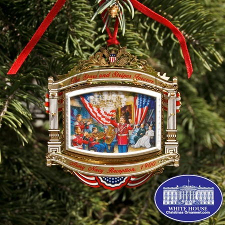 2010 White House William McKinley Ornament