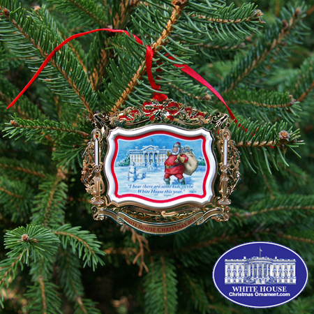 Official 2011 White House Theodore Roosevelt Ornament