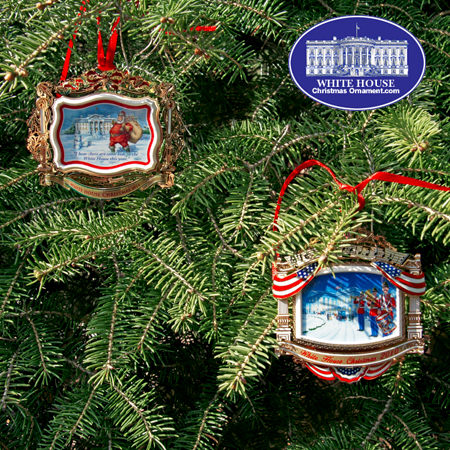 The Official 2011 White House Bulk Ornament Gift Set