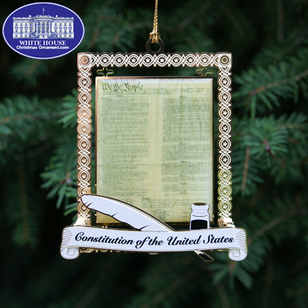 2011 US Constitution Ornament