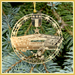 Pentagon 3-in-1 Commemorative Ornament