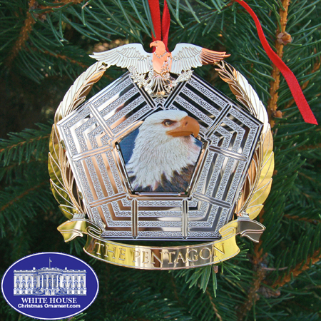 The Pentagon Eagle Ornament